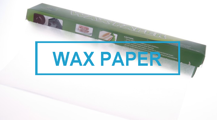 wax paper for baking